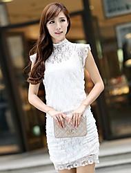 Summer Women's Lace Cheongsam Dress 4785