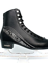 Skating Exceise Shoes Pu Leather Black -25C