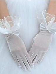 est fait référence à court web relier la robe mariée mariage glovesyarn grand dentelle transparente avec deux couleurs