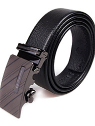 Men Buckle/Waist Belt , Party/Work/Casual Leather