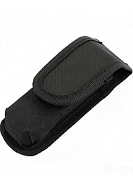 LS070 Black Nylon Holster #119 For 1x18650 Flashlight Torch