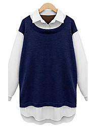 חולצות של נשים אופנה רזה (יותר צבעים)