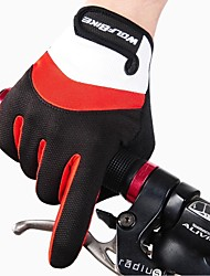 Gloves Sports Gloves Men's / Unisex Cycling Gloves Autumn/Fall / Winter Bike GlovesKeep Warm / Anti-skidding / Shockproof / Breathable /
