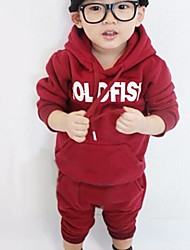 Boy's Korean Alphabet Track Suit