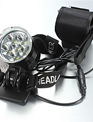 Lights Headlamps LED 8400 Lumens 5 Mode Cree XM-L T6 18650 Waterproof / RechargeableCamping/Hiking/Caving / Everyday Use / Cycling/Bike /