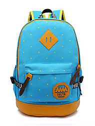 Women Canvas Casual Backpack Multi-color