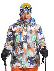 Men's Fashional Thermal Thick Waterproof Skiing Jackets