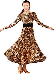 Ballroom Dancewear Women's   Qmilch Ballroom Modern Dance Dress