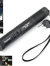 Holyfire 301 532nm Visible Adjustable Beam Green Laser Pen with Battery Charger - Black