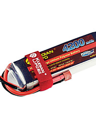 Kudian RC Battery 45C 4200mAh T Plug 2S
