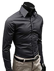 Fashion Casual  Causal Slim Shirt