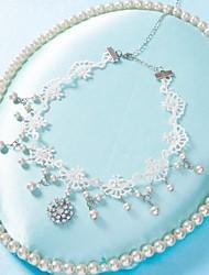 fio de jóias de noiva colar cocar ensacado variedade