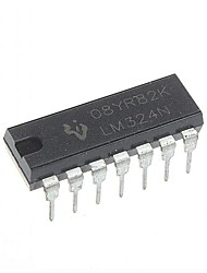 LM324 LM324N DIP-14 Integrated Circuits  IC (10pcs)