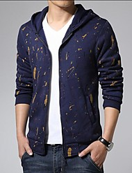 Men's Camouflage Jacket Short Paragraph Cardigan Sweater Cultivation Of Foreign Trade
