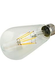Lampadine globo 6 COB YouOKLight E26/E27 6 W Decorativo 580 LM Bianco caldo AC 85-265 V