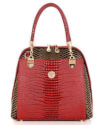 Women's Pattern Embossing Capacious Pu Handbag