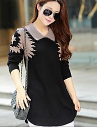 korean taille maxi robe pull col roulé talonnage lâche des femmes
