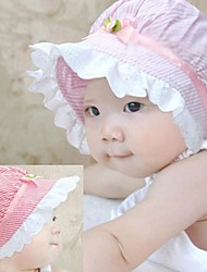 1pcs Baby' hat striped cotton Summer Unisex Kids Infant Princess Sun Hats Caps newborn bonnets accessories