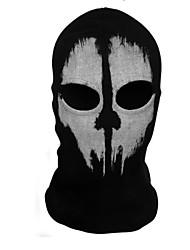 Маски Призрак Фестиваль / праздник Костюмы на Хэллоуин черный С принтом Маски Хэллоуин Универсальные