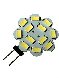 3W G4 LED Spot Lampen 12 SMD 5630 250-270LM lm Natürliches Weiß DC 12 V