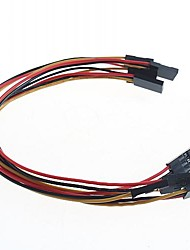3-контактный 20см 2.54 DuPont линии (5 шт)