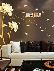 adesivi murali stickers murali, fiori in stile cinese di adesivi murali ricchezza pvc