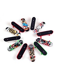 10Pieces/Lot Toys for Children Finger skateboard with Abrasive Paper and Pretty patterns