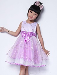 Girl's Lovely Shining Multi-layers Tulle Party Wedding Pageant Kids Clothes Princess Dresses
