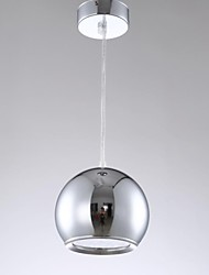 12w LED Droplight Plating Silver Color Apple Shape Dining Room LED Pendant Lights AC85-265v
