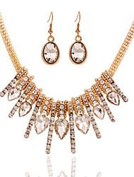 Women's Alloy Jewelry Set Multi-stone/Crystal