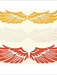 3d ailes d'angle auto voiture décoration de plumes sticker