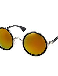 100% UV400 Round Nickel Alloy Retro Sunglasses