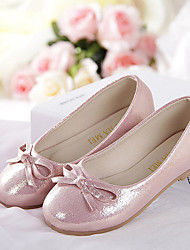 Girl's Shoes Wedding Shoes Comfort Flats Wedding/Outdoor/Dress/Casual/Party & Evening Pink/Silver/Gold