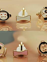 vender bien de aleación de pendientes de la manera de goteo conjunto de 3 (más colores)