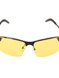 Sonnenbrillen hombres / mujeres / Unisex's Klassisch / Sport / Modisch Rechteck Gelb Sonnenbrillen / Fahren / Night Vision Goggles