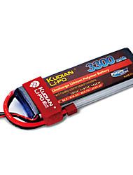 Kudian RC Battery 35C 3300mAh T Plug 3S
