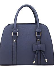 weiershi Frauen süße große Bowknot-Muster-Einkaufstasche