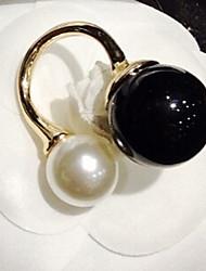 женская элегантная жемчужина кольцо