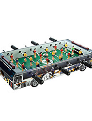 Bus Style Table Football 6 Handles Desktop Toy
