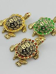 piccola tartaruga auto decorazione scatola gingillo