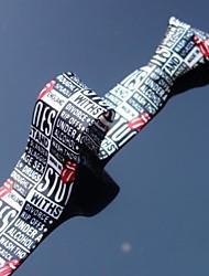 estilo de jornal impresso poliéster finas laços cinco centímetros dos homens xinclubna® (1pc)