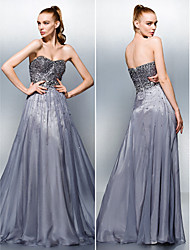 Homecoming Dress A-line Sweetheart Floor-length Tencel