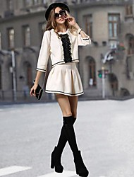 Women's Fashion Slim  Suit  (Blouse & Skirt)
