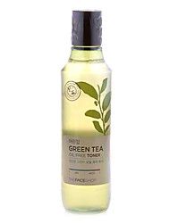 The Face Shop GREEN TEA Baby Leaf Green Tea Oil-Free Toner