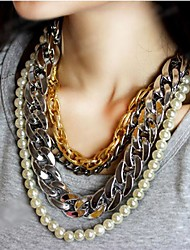 Women's Multilayer Exaggerated Sweater Chain