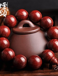 tanson®High density super oily chicken blood red lobular Rosewood Fozhu hand on old material 12 20mm