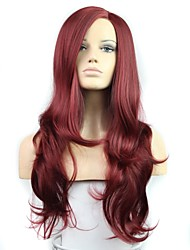 28 Inch Long Big Wave Female Fashion High Temperature Fiber Synthetic Wig