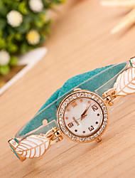 Wanbao Women's Elegant Diamonade Bracelet Watch
