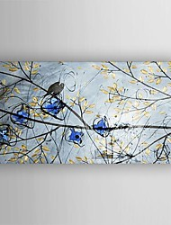 Oil Painting  Abstract Birds in the Tree Hand Painted Canvas with Stretched Framed