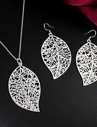 Uyuan Women's 925silver Delicacy Silver Ornament Set